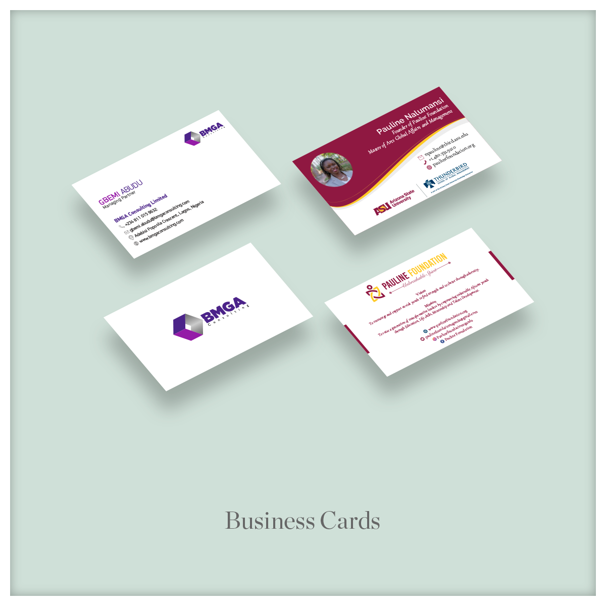 Yully Purwono | Portfolio | Business Card